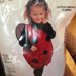 Toddler Ladybug costume/romper